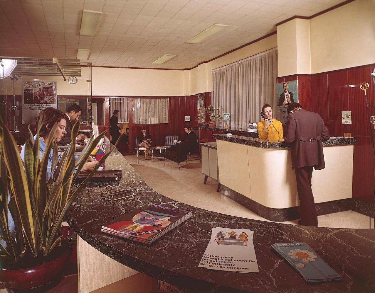 Intérieur d'agence (1972)
