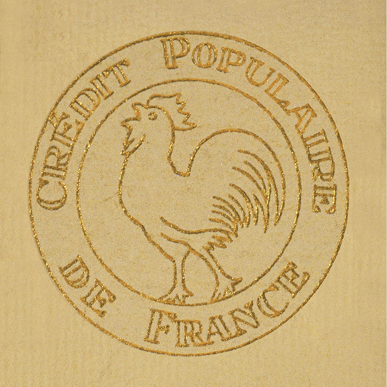 Logo Banque Populaire 1948