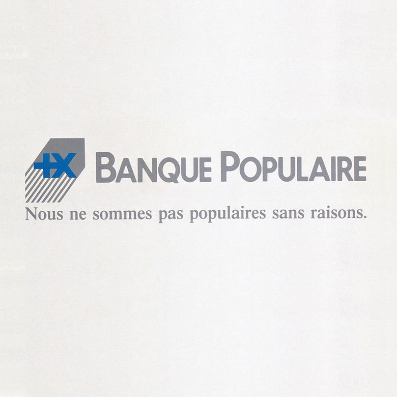 Logo Banque Populaire 1992