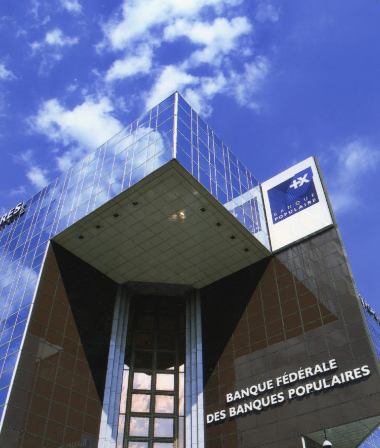 Immeuble Le Ponant - Banque Fédérale des Banques Populaires