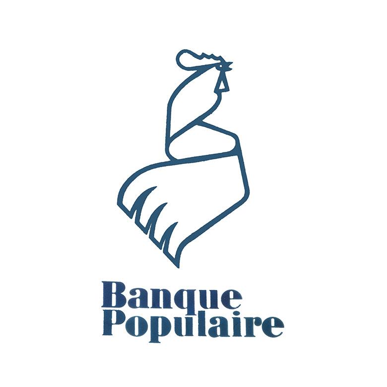 Logo Banque Populaire 1972